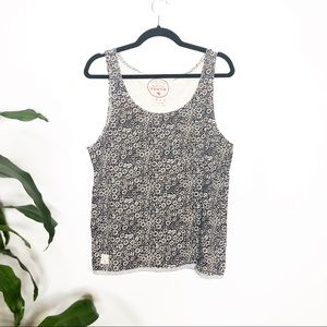 Native Youth┃ Scoop Neck Floral Tank Top